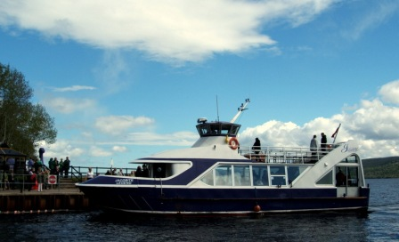 All aboard for a Jacobite cruise on Loch Ness